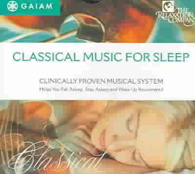 CLASSICAL MUSIC FOR SLEEP (CD)